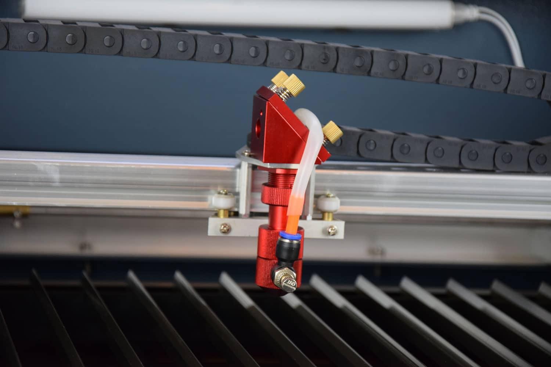 Co2 laser lite lasersnijden graveren metaquip bv - Kiezen werkoppervlak ...