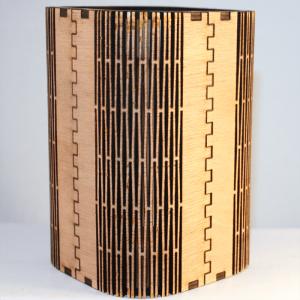 Corte láser de madera con cortador láser de CO2