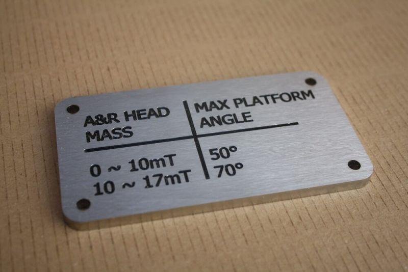 Laser engraving of metal