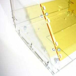 corte acrílico con cortador láser de CO2