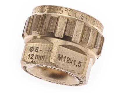 ronde voorwerpen lasergraveren - typenummer op koppelstuk