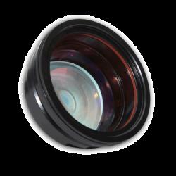 Groothoek lens voor fiberlaser