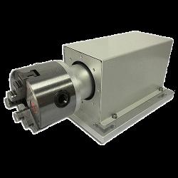 Rotation module for fiber laser