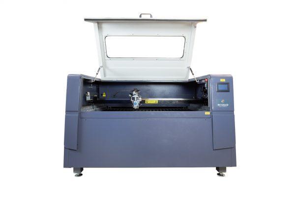 MQ1390C Alta potencia CO2 Combi metal madera plástico plástico láser cortador abrir solapa