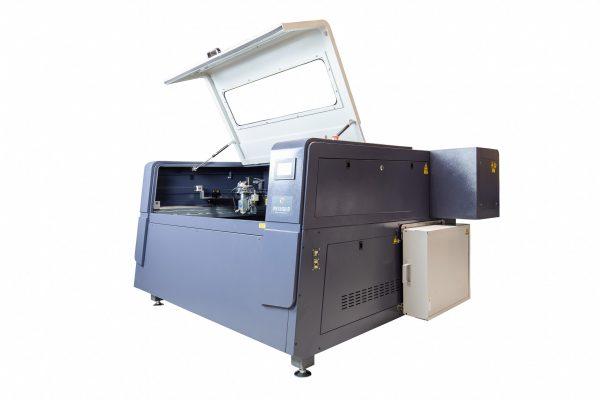 MQ1390C High-Power CO2 Combi metaal hout kunststof lasersnijder 45 graden