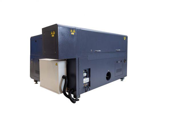 MQ1390C High-Power CO2 Combi metaal hout kunststof lasersnijder achterzijde