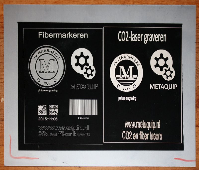 Difference fiber laser and CO2 laser for laser engraving of metals