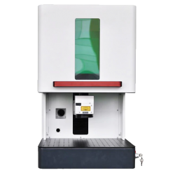 Desktop Faser Laser Laser Metall Gravur Maschine vorne
