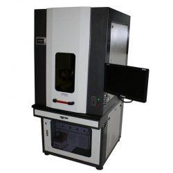 Industrielle Faserlaser-Metallgraviermaschine