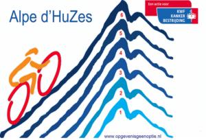 Láser de CO2 para caridad Alpe'd Huzes