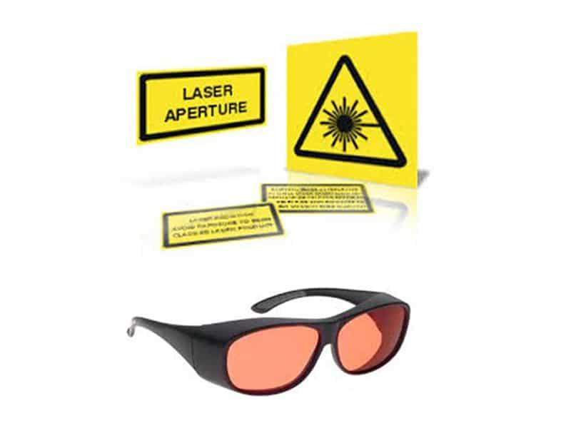 laserowy zestaw światłowodowy
