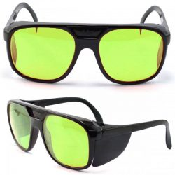 Fiber laser safety glasses