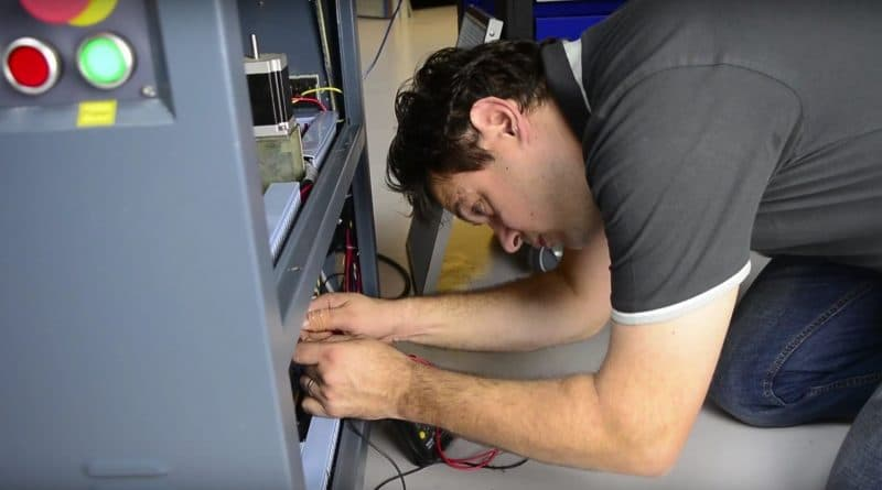 Servicio de máquina láser