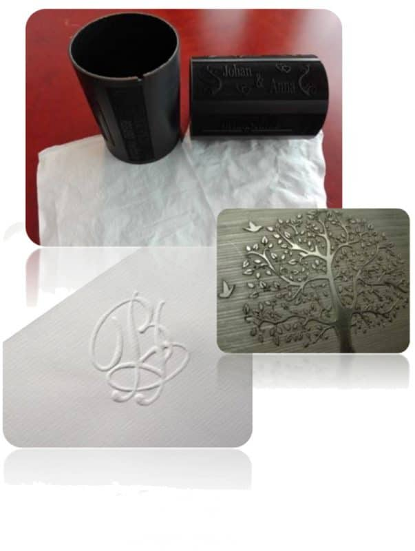 Rol2Rol printing smart sleeve laser graveren