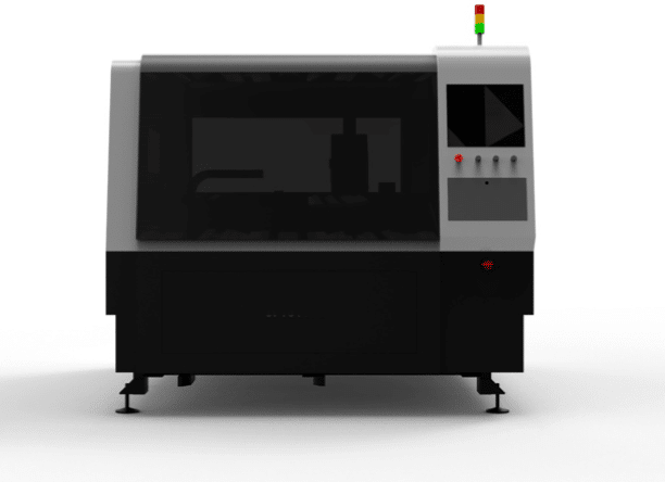 Fiber laser snijmachine - voorzijde
