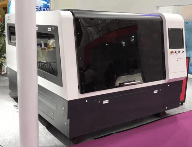 Fiberlaser snijmachine voor metaal