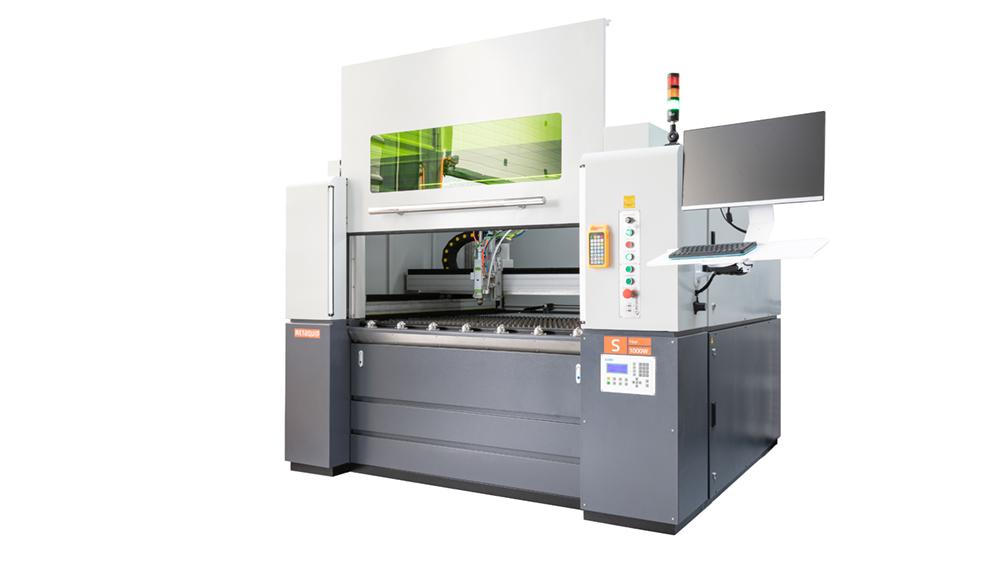 Laser door MetaQuip FC1390 metal laser cutter