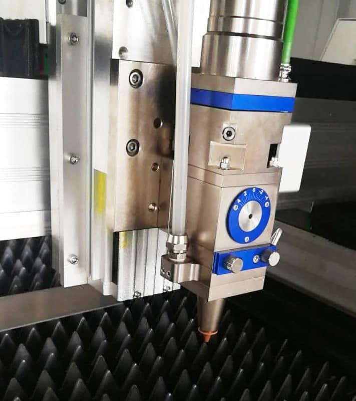 FC1390 fibersnijder-laserkop