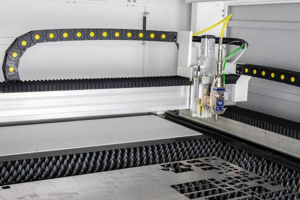 Fiberlaser metaal lasersnijder - laserkop