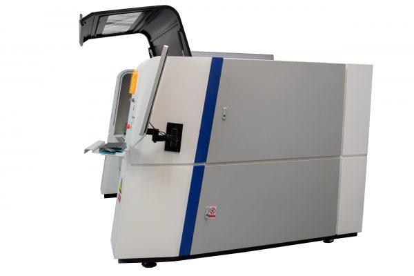 METAQUIP Fiber laser cutting machine side