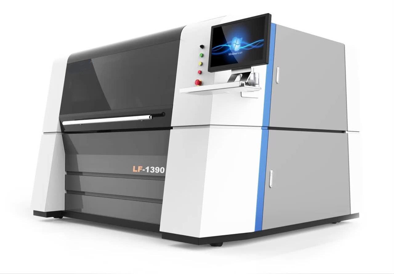 Metal fiber laser cutting machine FC1390