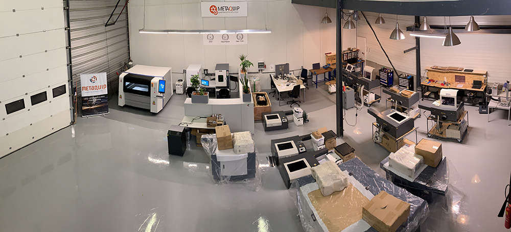 Demonstration laser machines at MetaQuip