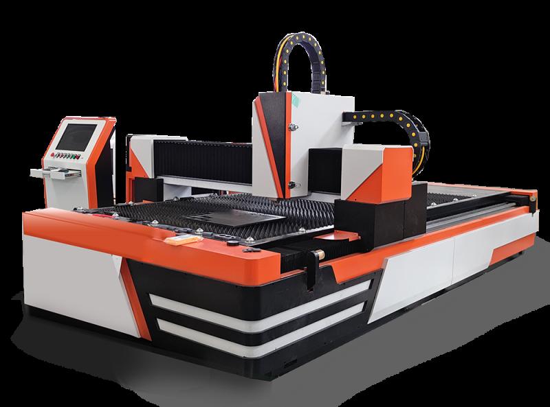 Fiber laser metal laser cutter