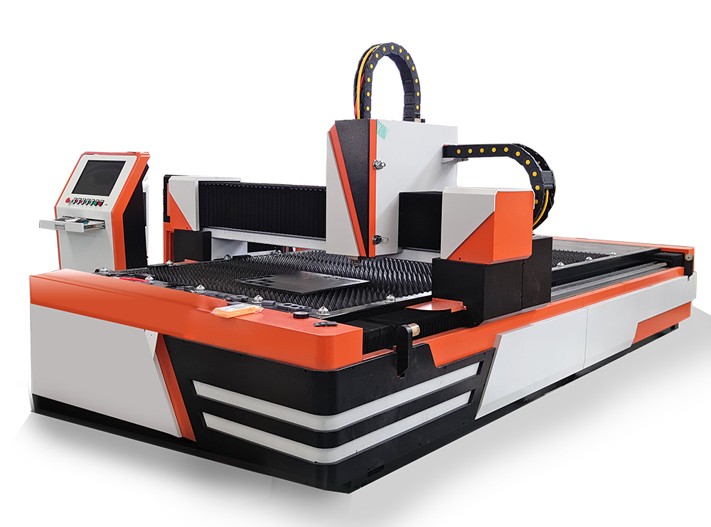 Open model fiber laser metal cutter