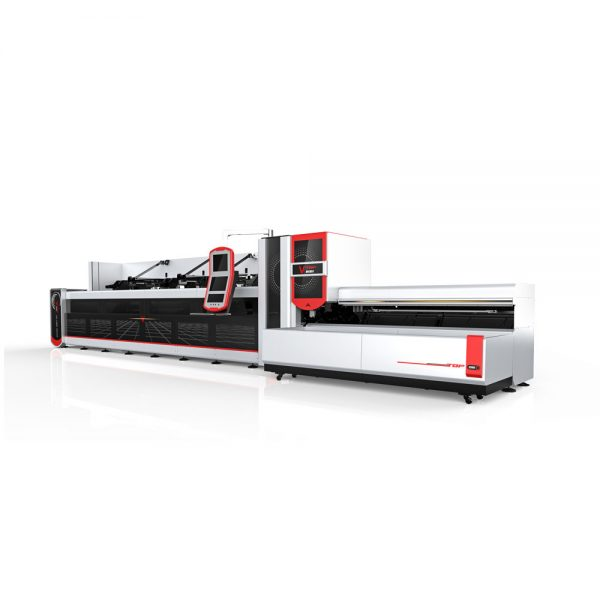 Metal tube / profile laser cutter