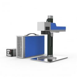 Fiberlaser metaal graveer machine