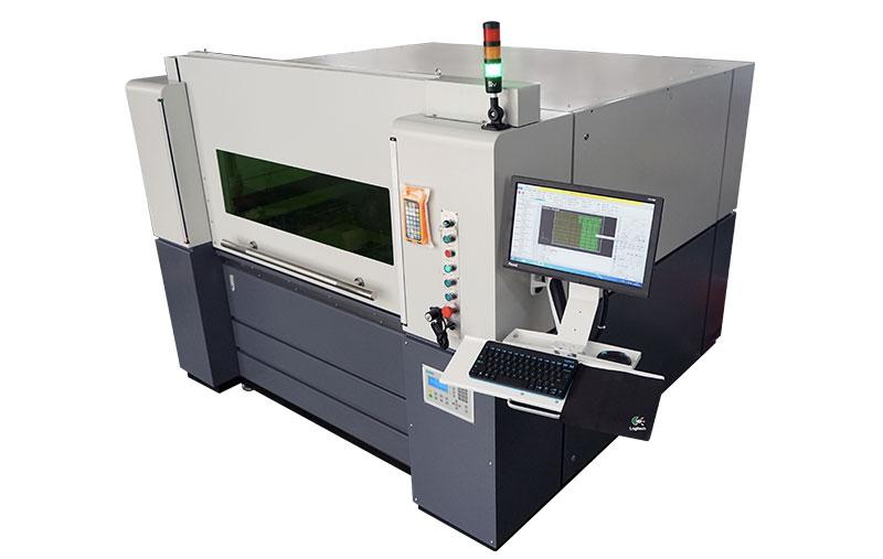 Metaal fiber laser snijder
