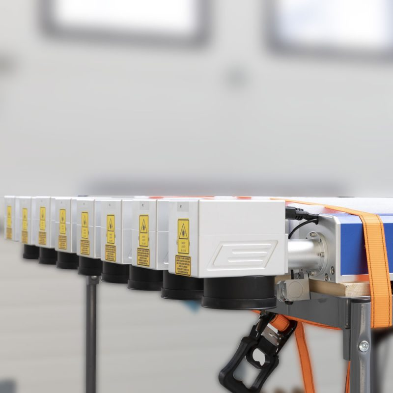 Productie proces automatisering met fiber lasers