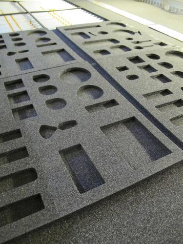 Foam en schuim(rubber) lasersnijden / lasercutting