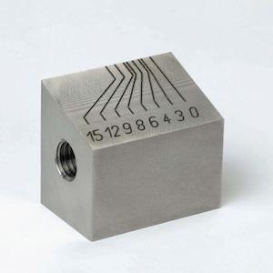 Laser engraving metal with fiber laser