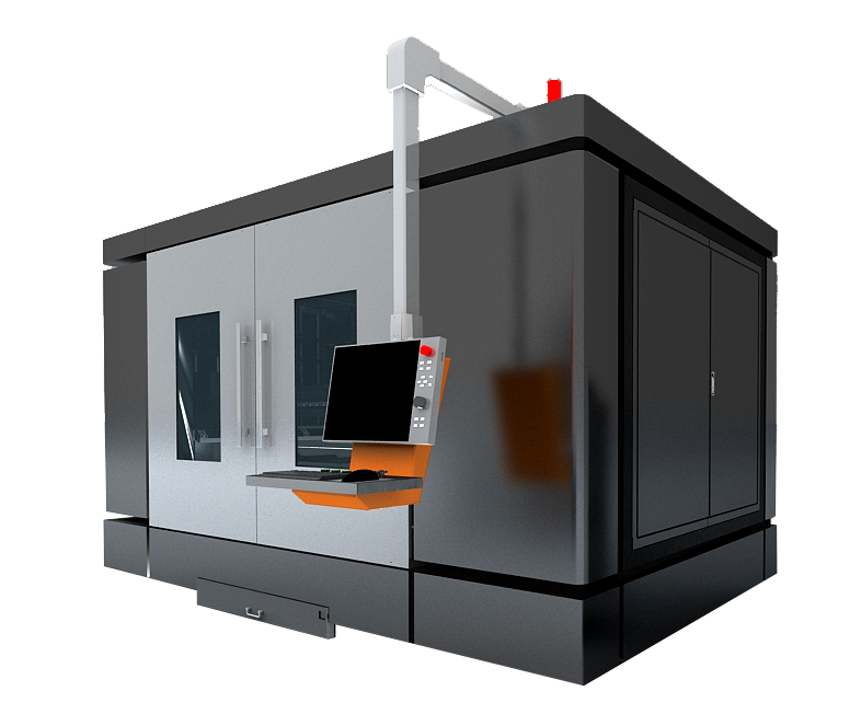 Máquinas de corte de metal con láser de fibra